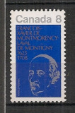 Canada.1973 350 ani nastere F.X. de Lavat-episcop  MC.469, Nestampilat