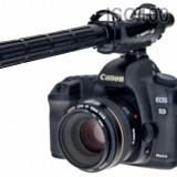 Sennheiser shotgun pentru Canon 5D Mark IV Mark III 6D 70D