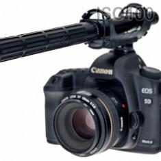Sennheiser shotgun pentru Canon 5D Mark IV Mark III 6D 70D - Microfon
