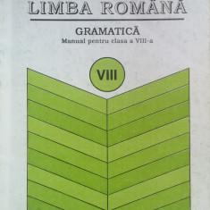 LIMBA ROMANA GRAMATICA MANUAL PENTRU CLASA A VIII-A - Ion Popescu - Manual scolar, Clasa 8