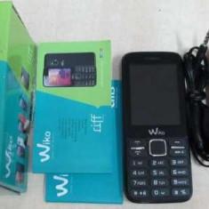 WIKO RIFF dual sim - Telefon mobil Dual SIM Wiko, Negru, Nu se aplica, Neblocat, Fara procesor