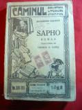 A.Daudet - SAPHO interbelica ,Colectia Caminul 289-293 ,trad.G.B.Rares
