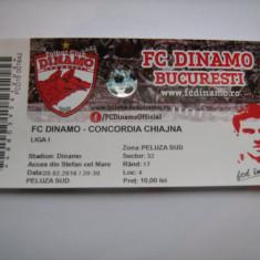 Lot 3 bilete de meci Dinamo Bucuresti (Concordia Chiajna, Astra si Steaua) - Bilet meci