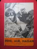 Afis film Paine, aur, Nagan - URSS , afis cinema film comunist