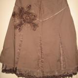 Fusta Vila Clothes cu aplicatie, Mar M