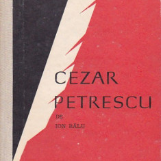 ION BALU - CEZAR PETRESCU