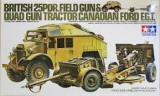 + Macheta Tamiya 35044 1/35 - Br.25PDR Gun Quad Tractor +