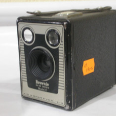 De colectie ! Aparat foto vechi BROWNIE Six-20 model C ! - Aparat de Colectie
