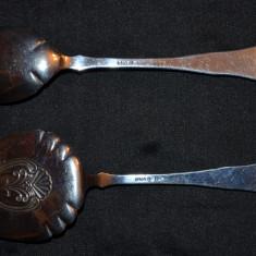 SET - LINGURITA + PALETA - ARGINT 830 - De servit tort sau prajitura - Norvegia!, Set tacamuri