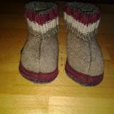 Haflinger papuci de casa copii mar. 22 - Botosi copii, Culoare: Din imagine