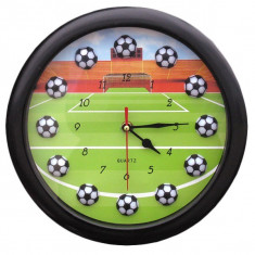 Ceas de perete copii - fotbal