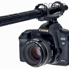 Elastic shockmount suspension V2 pentru DSLR si microfon shotgun Sennheiser