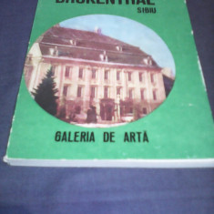 MUZRUL BRUKENTHAL SIBIU GALERIA DE ARTA GHID 1975 - Album Muzee