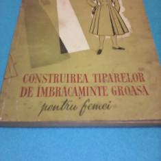 CONSTRUIREA TIPARELOR DE IMBRACAMINTE GROASA PENTRU FEMEI WALDNER HERMAN 1959 - Carte design vestimentar