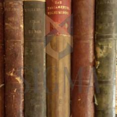 BIBLIA SAU TESTAMENTUL VECHIU SI NOU, 5 VOL, BUZAU, 1854 - Carti Istoria bisericii