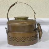 Superb ceainic vechi din alama ! - Metal/Fonta, Ornamentale