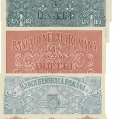 25, 50 bani, 1, 2, 5, 20, 100, 1 000 Lei 1917 Ocupatia Germana Reproduceri - Bancnota romaneasca, An: 2016