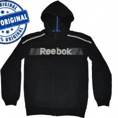 Hanorac copii Reebok Athletic - hanorac original - bluza gluga, Marime: L, Culoare: Din imagine