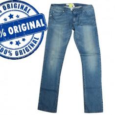 Blugi dama Adidas Sknny - pantaloni originali - blugi skinny, Marime: 25, Culoare: Albastru, Lungi, Joasa