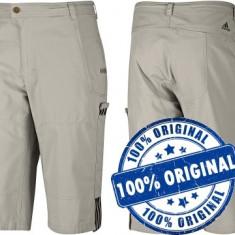 Pantalon barbat Adidas SF - pantaloni originali - Pantaloni barbati Adidas, Marime: S, Culoare: Gri, Trei-sferturi, Bumbac