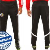 Pantalon barbat Adidas Romania - pantaloni originali - pantaloni conici - Pantaloni barbati Adidas, Marime: S, Culoare: Negru, Lungi, Poliester