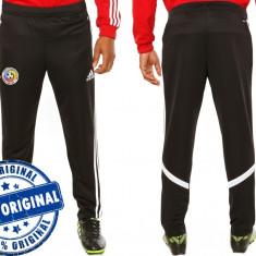 Pantalon barbat Adidas Romania - pantaloni originali - pantaloni conici, Negru, Lungi, Poliester