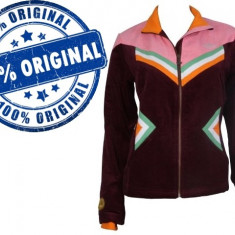 Jacheta dama Adidas Originals Winter - bluza originala, Marime: M, Culoare: Visiniu, Bumbac