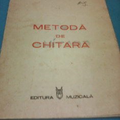 METODA DE CHITARA FERDINANDO CARULLI, EDITURA MUZICALA 1985 - Partitura