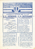 Program meci fotbal PETROLUL PLOIESTI - CS BOTOSANI 31.03.1985