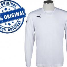Bluza barbat Puma V-Kon - bluza originala - Bluza barbati Puma, Marime: XXL, Culoare: Alb, La baza gatului, Poliester