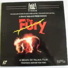 "LASERDISC/VIDEO DISC 12""(30 CM) THE FURY CU KIRK DOUGLAS REGIA BRIAN DE PALMA - Film Colectie mgm, Alte tipuri suport, Engleza"