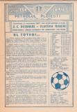 Program Petrolul Ploiesti - Flacara Moreni 08.11.1987