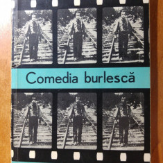 Comedia burleasca - iordan chimet 1967 - Carte veche