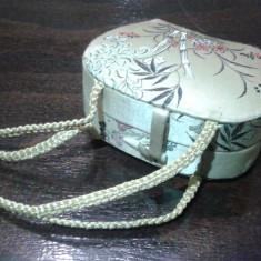 Poseta vintage pentru ustensile machiaj Japonia - Geanta vintage