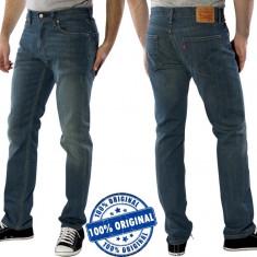 Blugi barbat Levi's 511 Slim - blugi originali - Blugi barbati Levi's, Marime: 30, Culoare: Albastru, Lungi, Slim Fit, Normal