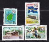 Nauru  1974  UPU   harti   MI  111-114   MNH  w27, Nestampilat