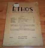 Revista Ethos ianuarie-iunie 1945