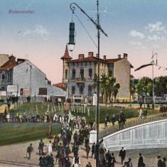 CONSTANTA, BULEVARDUL - Carte Postala Dobrogea 1904-1918, Necirculata, Printata