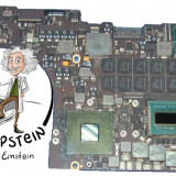PLACA DE BAZA LAPTOP APPLE MACBOOK RETINA 15, i7 2.3, 8GB RAM, 1GB Video, A1398, DDR 3, Contine procesor