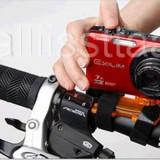Suport cu benzi prindere pe ghidon bicicleta pentru camera video / aparat foto, Suporti de/si bidoane