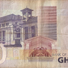 GHANA 20 CEDIS 2007 U - bancnota africa