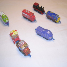 Chuggington - Wilson, Brewster, Koko, Hodge, Harrison, Old Pete - Trenulet Learning Curvee, Metal