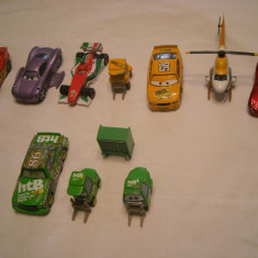 Disney Pixar Cars - Hasbro - 10 figurine masinute de metal - lot 1 - Masinuta