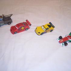 Disney Pixar Cars  - 4 figurine masinute de metal