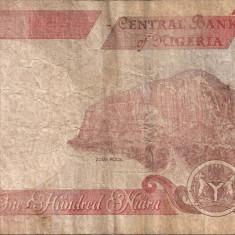 NIGERIA 100 NAIRA 2012 U - bancnota africa