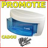 STERILIZATOR UV CU SERTAR SALON USTENSILE COAFOR FRIZERIE+ 10 PIEPTENI - Sterilizator manichiura BeautyUkCosmetics