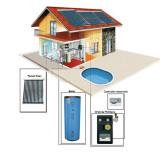 Sistem Solar Presurizat 2-3 persoane 150 litri - Panouri solare presurizate - Panou solar