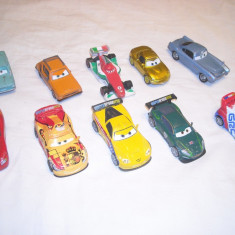 Disney Pixar Cars - Hasbro - 10 figurine masinute de metal - lot 7 - Masinuta
