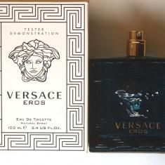 Tester Versace Eros men 100 ml - Parfum barbati Versace, Apa de parfum