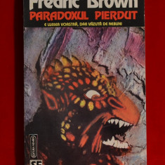 Carte - Paradoxul pierdut - Fredric Brown ( Carte SF ) #137